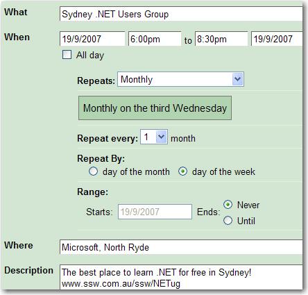 Using Google Calendar To Manage Recurring Tasks