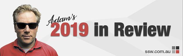 Adam's 2019 in Review