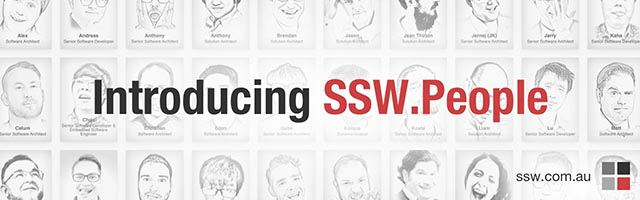 Introducing SSW People!