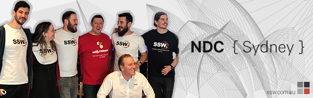 NDC Sydney 2018 was awesome