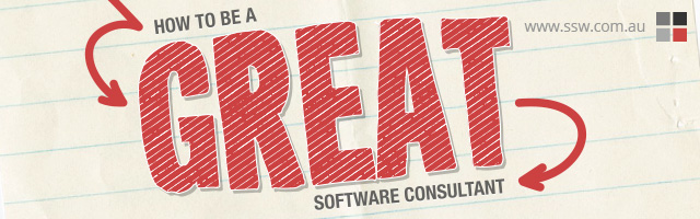 How to be a great software consultant