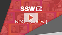 SSW TV - NDC 2020 Ask Me Anything! | SSW interviews NDC Sydney 2020 Speakers