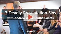 7 Deadly Presentation Sins