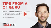 What I've learned from 20 years of programming in C# | Joe Albahari