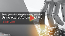 SSW TV - Build your first deep learning solution using Azure Automated ML