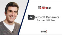 SSW TV - Dynamics 365 for the .NET dev – Andrew Campey