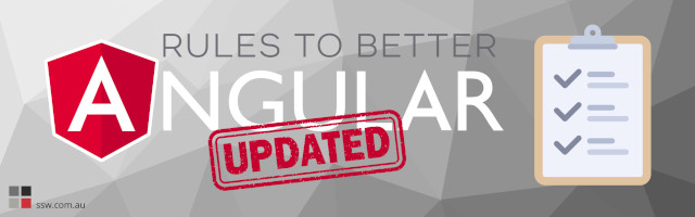 We've updated our Rules to Better Angular