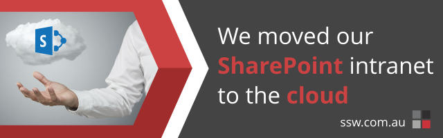 We moved our SharePoint Intranet to the Cloud!