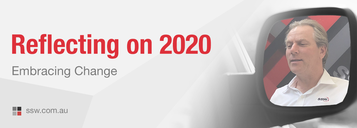 Reflecting on 2020 – Embracing Change