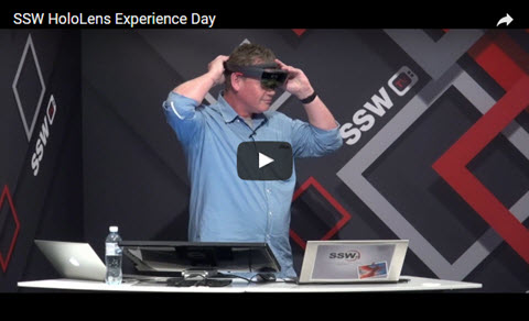 SSW HoloLens Experience Day