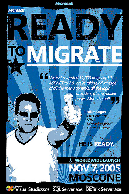 Ready to migrate poster />