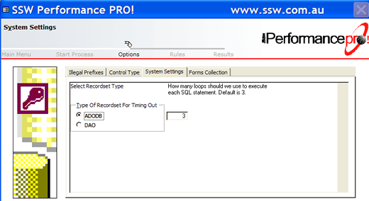 SSW Performance PRO Screenshots