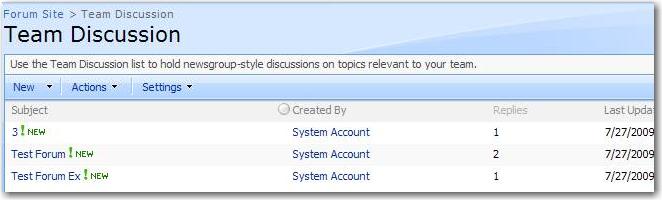 SSW Microsoft SharePoint (MOSS + WSS) Suggestions