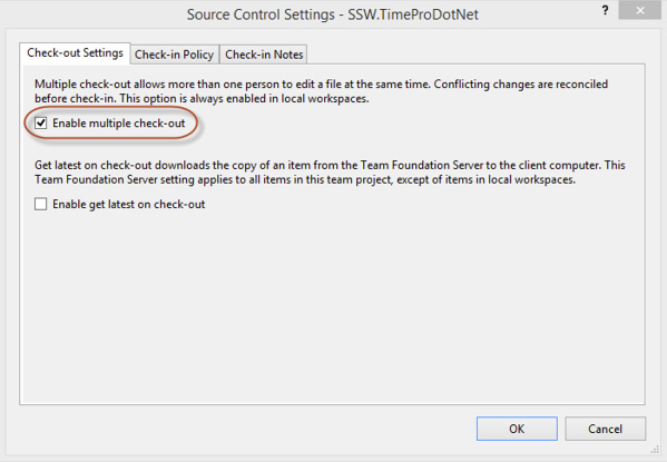 SSW Rules to Better Source Control with TFS
