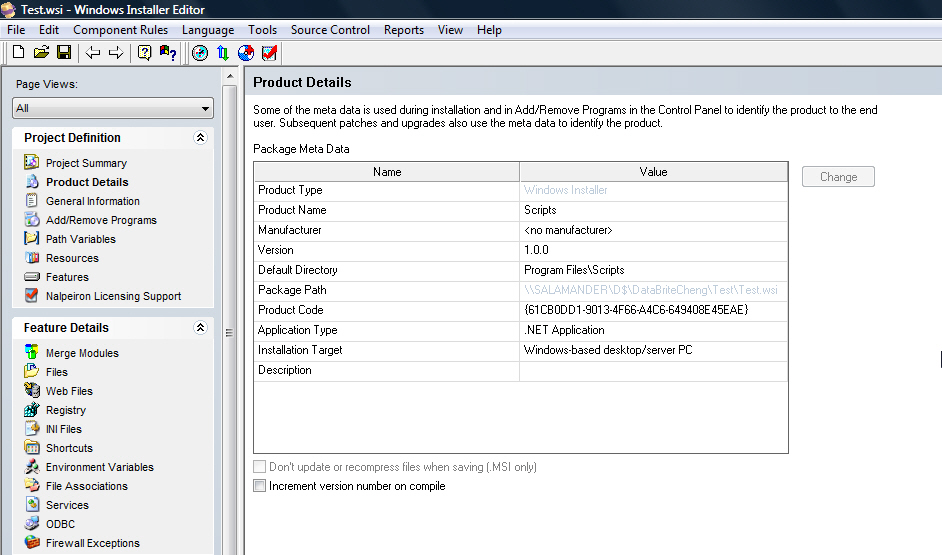 Wise for windows installer professional upgrade from installbuilder 78 or wise 9 standard