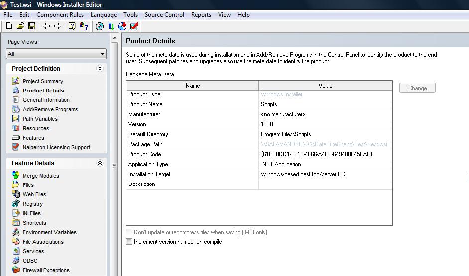 Windows installer 3.0