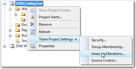 Rules to Better Project Management with TFS (Creating and Managing
