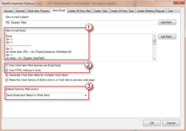 Creating An Outlook Template Mail Mining Adds Advanced